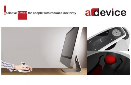 aDevice - Assistive device for people with reduced dexterity