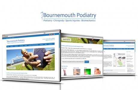 Bournemouth Podiatry, Chiropody Sports injuries and Bio-mechanics