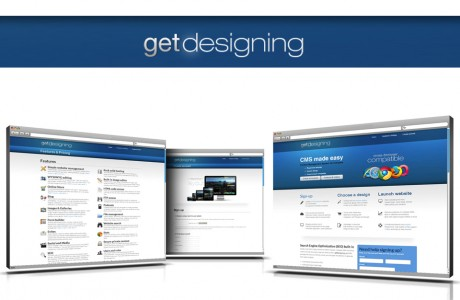 GetDesigning - CMS made easy